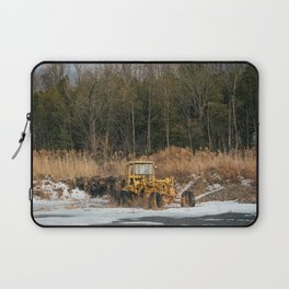Abandoned Construction Vehicle Laptop Sleeve