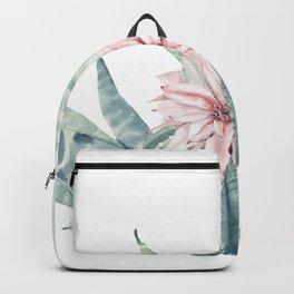 Petite Cactus Echeveria Backpack