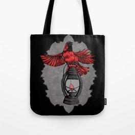 The Cardinal - Dark Tote Bag