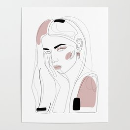 In Blush Poster