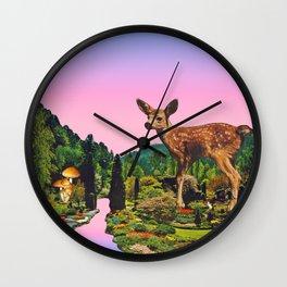 Giant deer Wall Clock