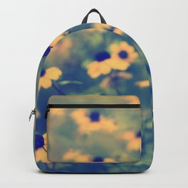 Golden daisies. Backpack