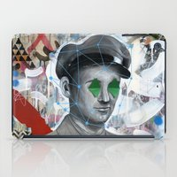 soldier iPad Cases featuring The Forgotten Soldier by FAMOUS WHEN DEAD