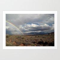 Arches National Park Rainbow Art Print
