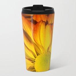 GOLDEN YELLOW SUNFLOWERS ART Travel Mug