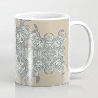 demon Mugs featuring Demon by Sandeep Barot