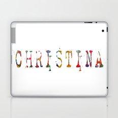NAME Christina Laptop & iPad Skin