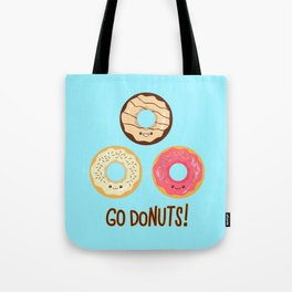 Go doNUTS! Tote Bag