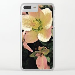 Helleborus Clear iPhone Case
