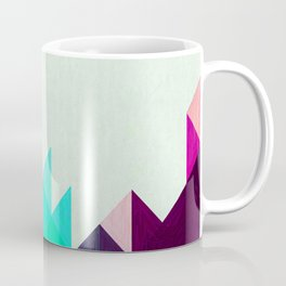 Purple Peaks Coffee Mug