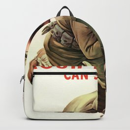 Your Blood Can Save Him Backpack