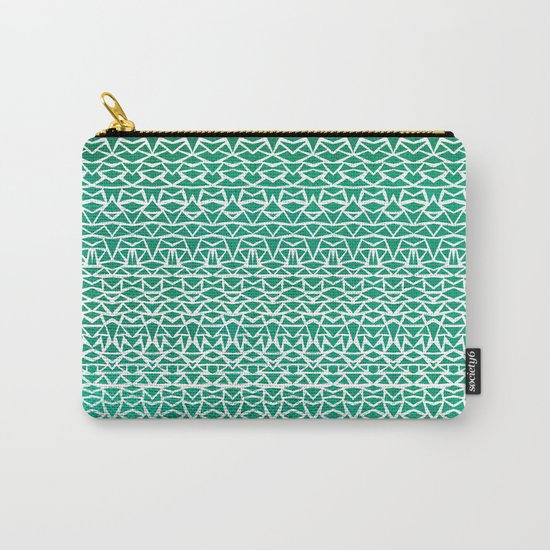Tribal Forest Carry-All Pouch