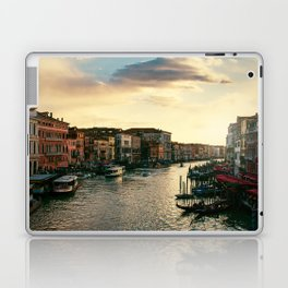 Venice on sunset Laptop & iPad Skin