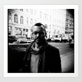 NYC holga portraits 3 Art Print