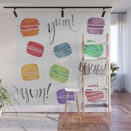 Yum! Macarons Wall Mural