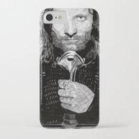 aragorn iPhone & iPod Cases featuring Aragorn by Rik Reimert