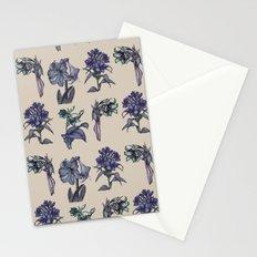 Botanical Florals   Vintage Blueberry Stationery Cards