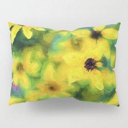 Flower Abstract Pillow Sham