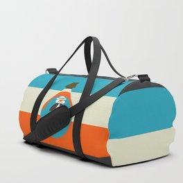 Cute fox reflection Duffle Bag