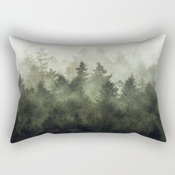 The Heart Of My Heart // Green Mountain Edit Rectangular Pillow