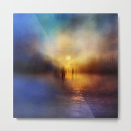 Light Echoes Metal Print