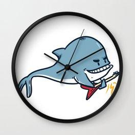 Guitar whale Wall Clock