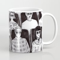 movies Mugs featuring The movies by Margarida Esteves