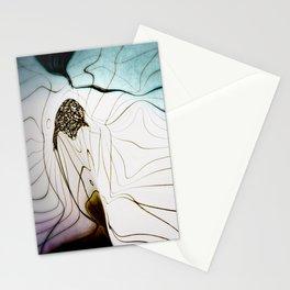 Glacial Foliation Stationery Cards