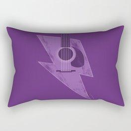 Electric - Acoustic Lightning Rectangular Pillow