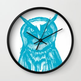 DOTTED OWL! Wall Clock