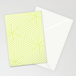 Key lime - green - Minimal Vector Seamless Pattern Stationery Cards