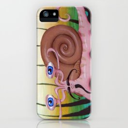 Toulouse the French Snail iPhone Case
