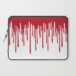 Blood Drippings Laptop Sleeve