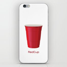Red Cup iPhone Skin