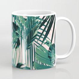 Tropical Jungle Leaves Siesta #2 #tropical #decor #art #society6 Coffee Mug