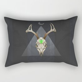 Poisoned Moon Rectangular Pillow