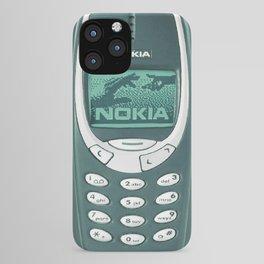 OLD NOKIA - Midnight Green Version iPhone Case