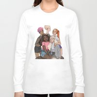 hermione Long Sleeve T-shirts featuring Tonks, Fleur, Hermione, Ginny and Luna by may12324