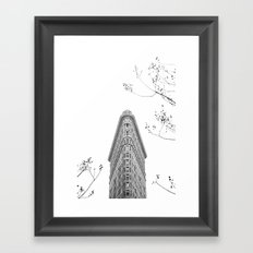 Flatiron Building NYC Framed Art Print