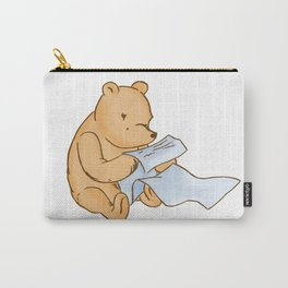 Pooh Reading Carry-All Pouch