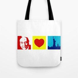 Milton Glaser Loves New York Tote Bag