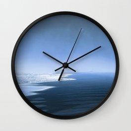 Blue ocean mood Wall Clock