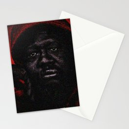 """""""American Skin"""" Portrait Painting by Jeanpaul Ferro Stationery Cards"""