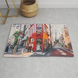 Tokyo Streets, Japan Rug