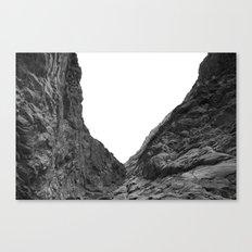 Valley of the Forsaken Canvas Print