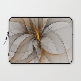 Elegant Chaos, Abstract Fractal Art Laptop Sleeve