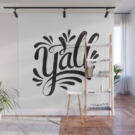 Y'ALL Wall Mural