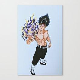 Hiei - Black Dragon Wave Canvas Print