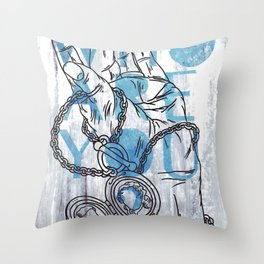 Something not to forget. Throw Pillow