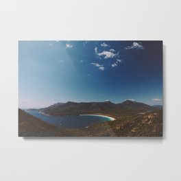 Wineglass Bay, Tasmania Metal Print